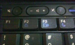 Клавиши F1-F4