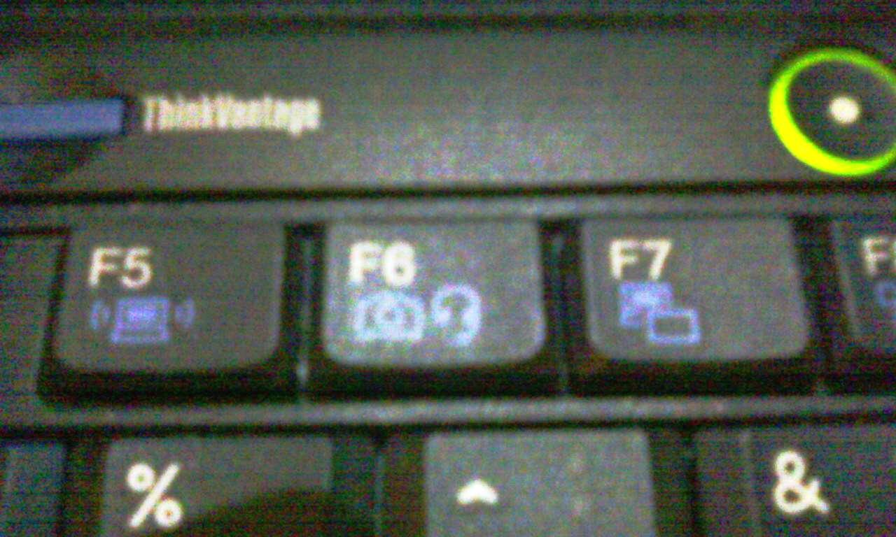 Клавиши F5-F7