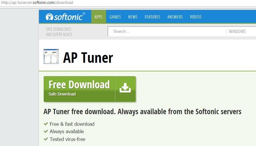 Сайт для скачивания ap tuner
