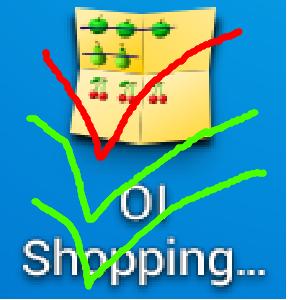 Как написать списко покупок на андроиде?