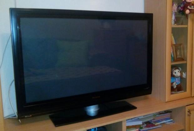 Телевизор с метровой диагональю с расстояния двух метров
