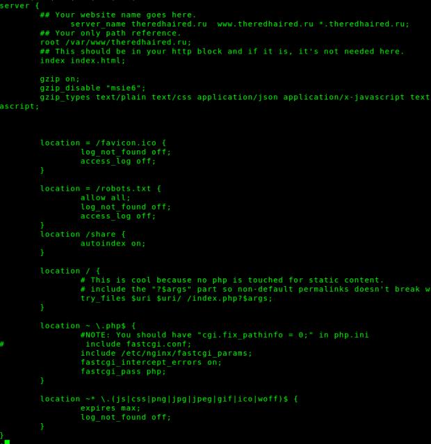 config-nginx-static-site