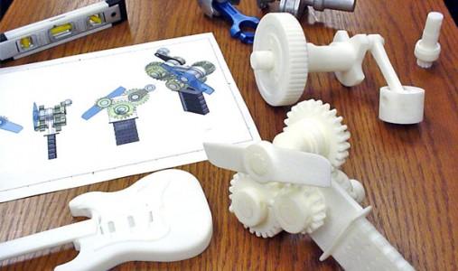 Напечатано на 3D принтере